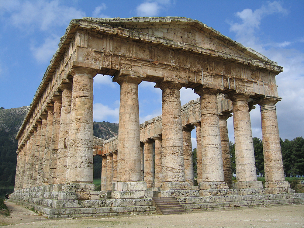 Doric Temple of Segesta: Wikimedia