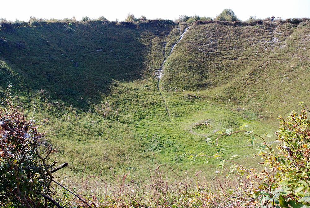 Lochnagar Crater: Wikimedia