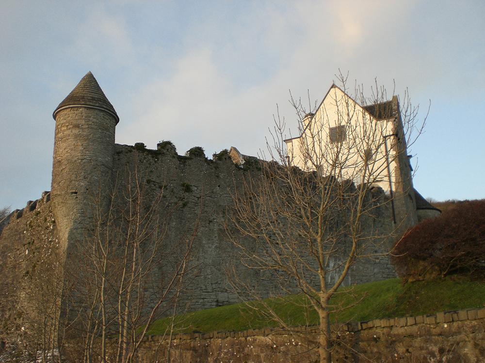 Parkes Castle: Wikimedia