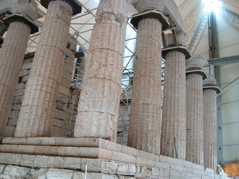 Temple of Apollo Epicurius: WikiPedia