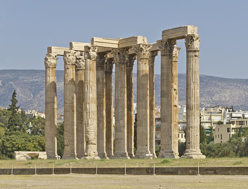 Temple Of Olympian Zeus WikiPedia