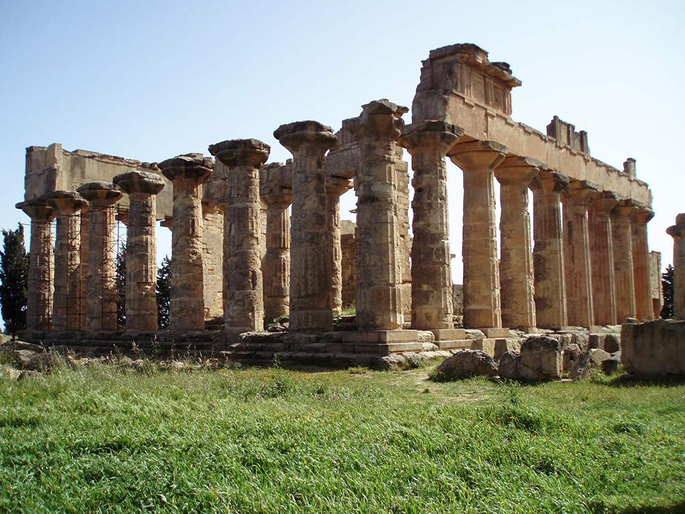 Temple of Zeus at Cyrene: Wikimedia