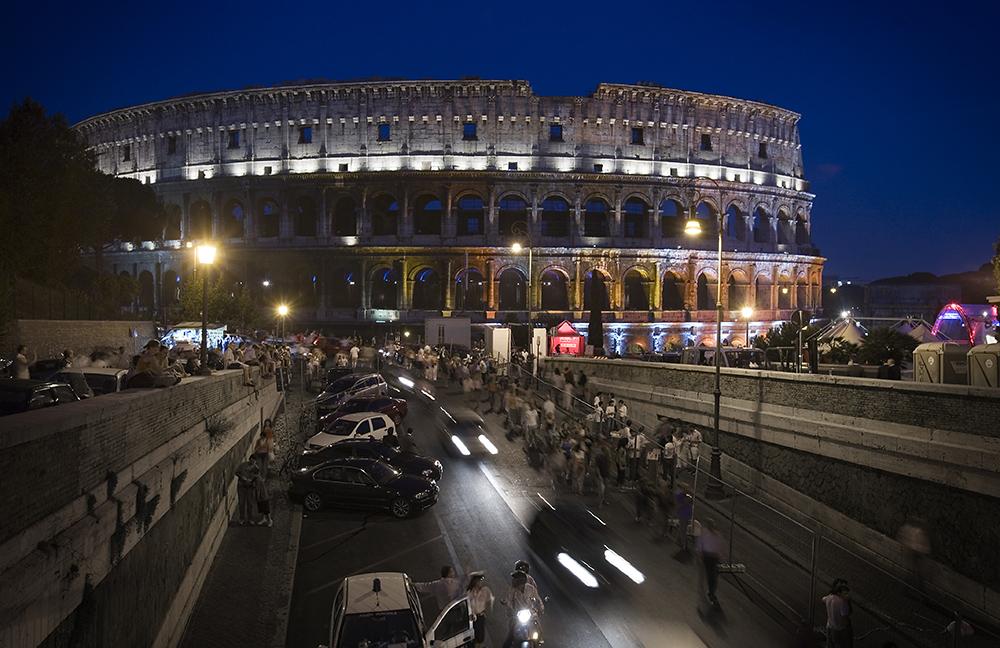 The Colosseum: Wikimedia