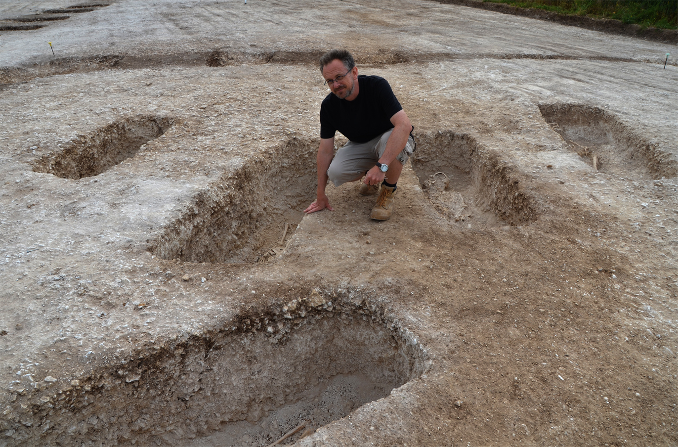 A unique archaeological find uncovered near the site of a Roman villa in Dorset could help to shed light on the rural elite of late-Roman Britain : Bournemouth University