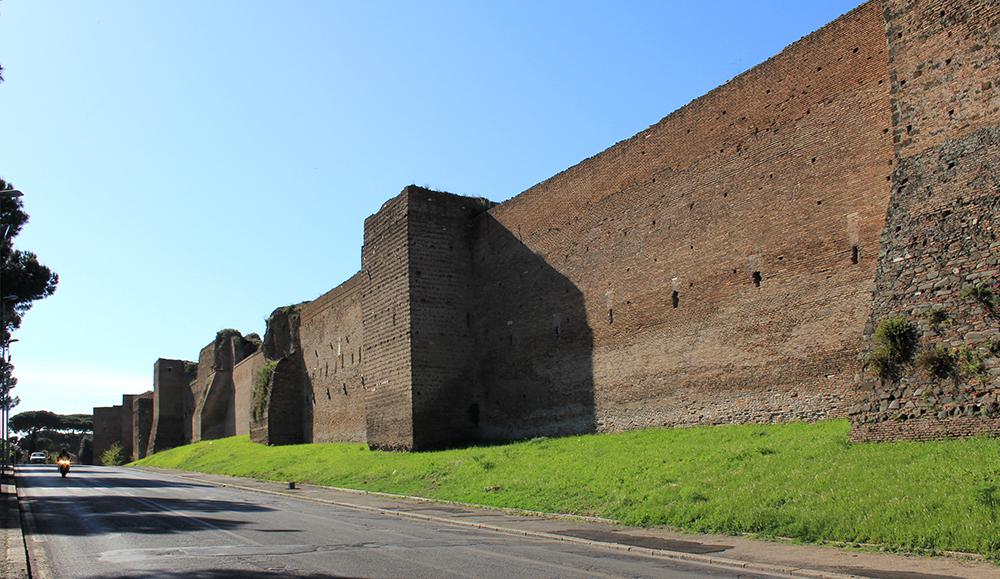 Aurelian Walls: Wikimedia