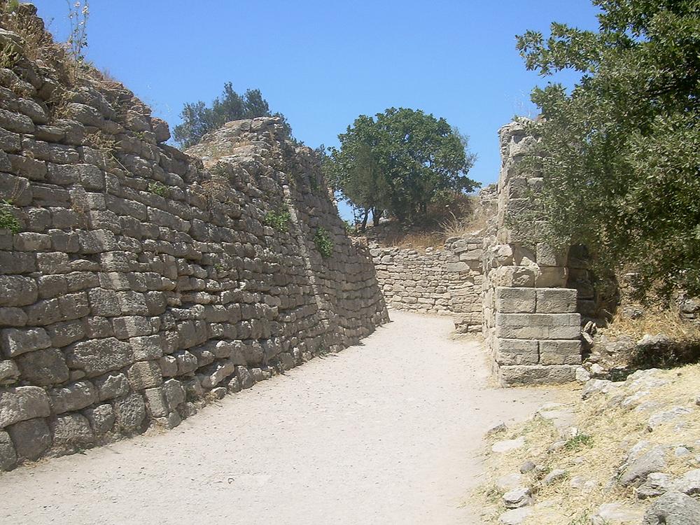 Walls of Troy: WikiPedia