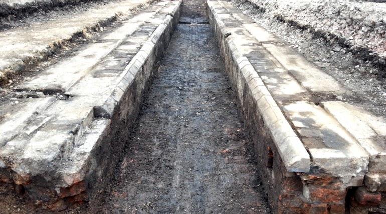 Brunel engine room uncovered at Paddington New Yard