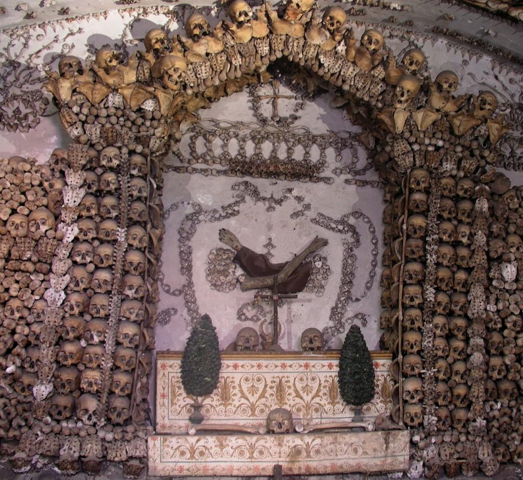 Capuchin Crypt, Rome, Italy. WikiPedia