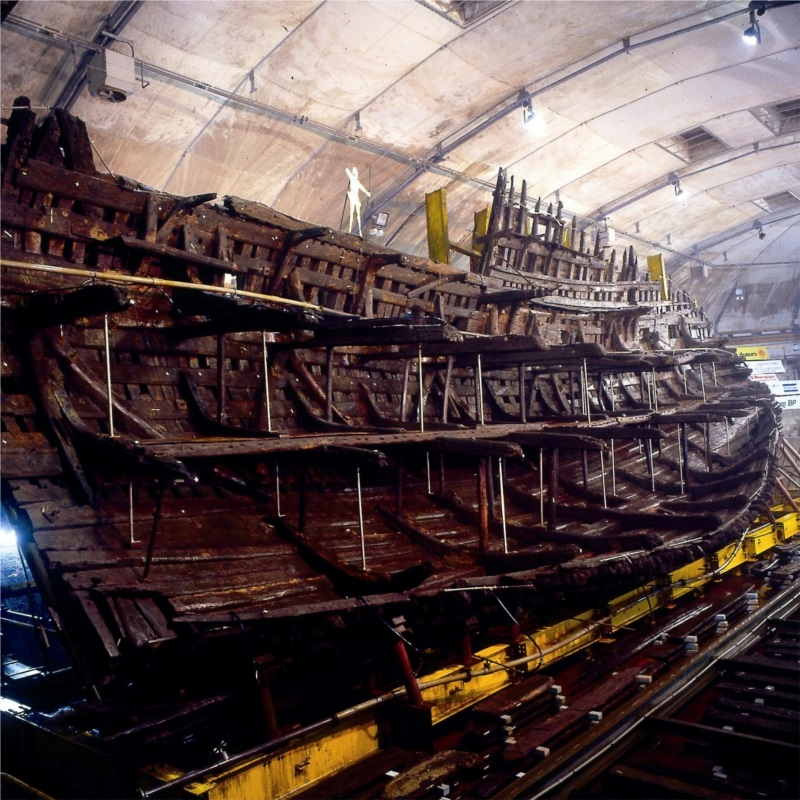 Mary Rose : Credit WikiPedia