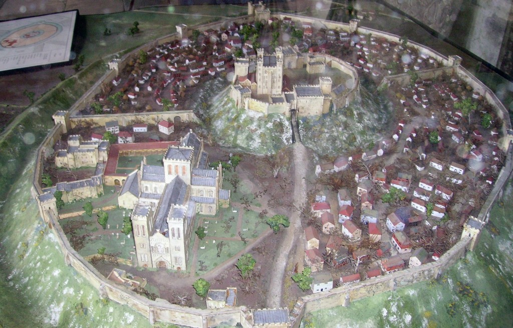 Recreation of medieval Old Sarum