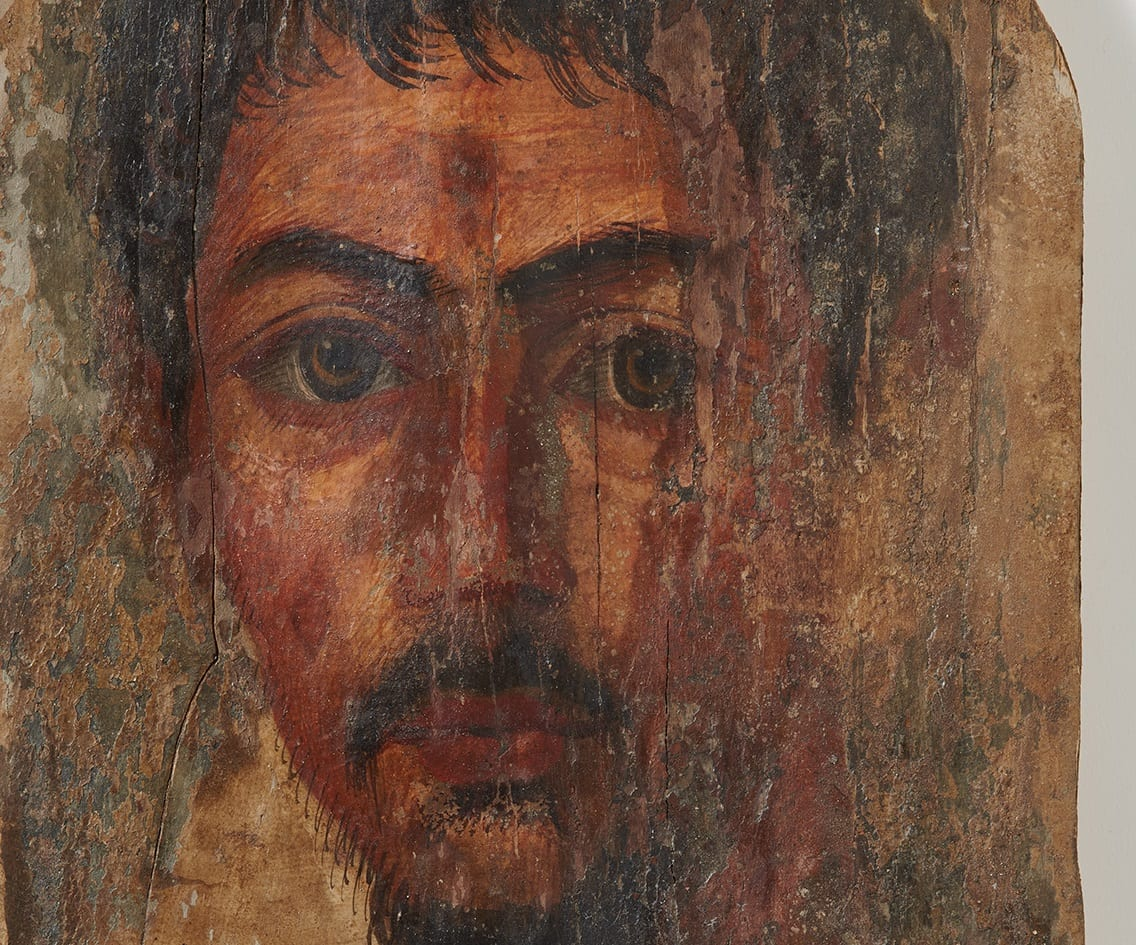 the institute of archaeology of the university of zurich restitutes two egyptian mummy portraits