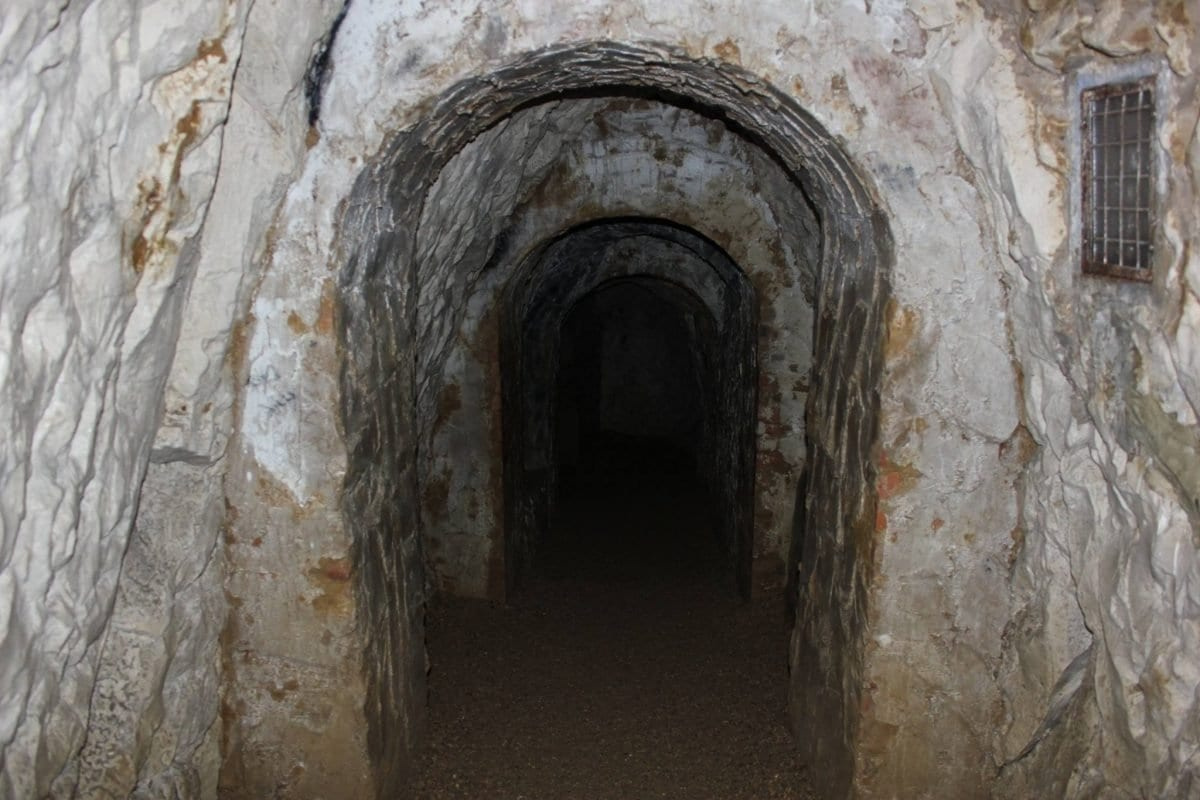 in buckinghamshire, england is a network of tunnels that important 18th century aristocrats met to carry out mock-pagan rituals and orgies.