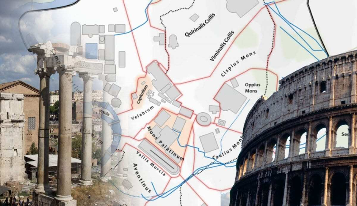 Ancient rome interactive map heritagedaily archaeology news ancient rome was originally an italic settlement dating from the 8th century bc that grew into the city of rome and which subsequently gave its name to the gumiabroncs Image collections