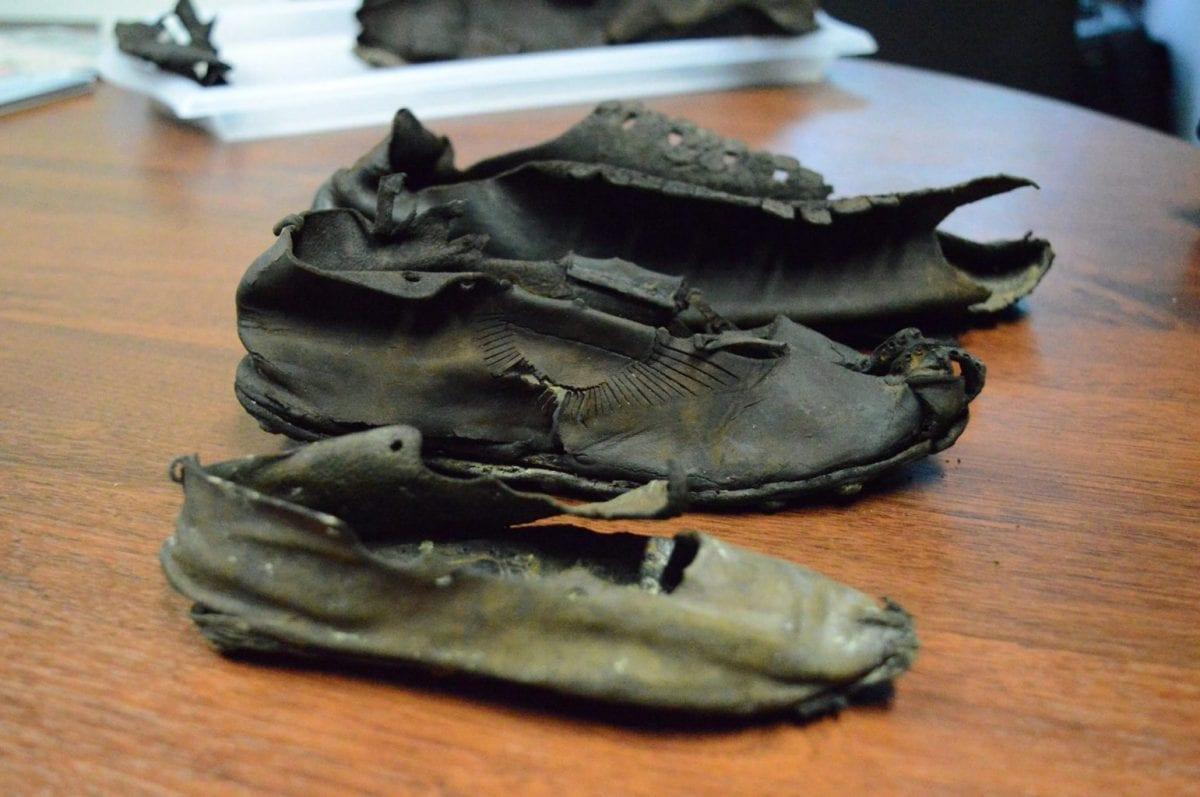 Roman Sandals - Credit : Vindolanda Trust