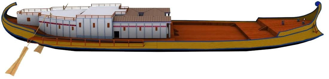 Reconstruction of Prima nave