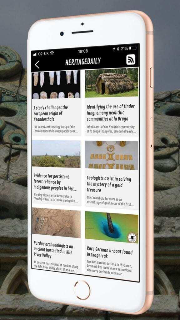 HeritageDaily App