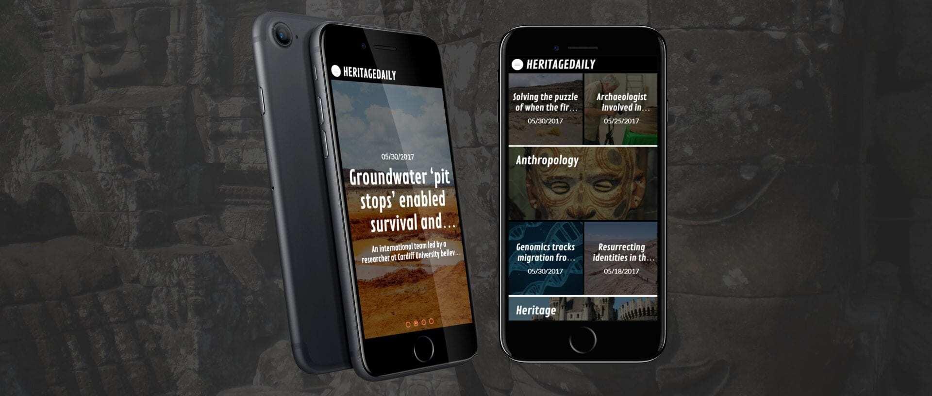 HeritageDaily App - HeritageDaily - Archaeology News