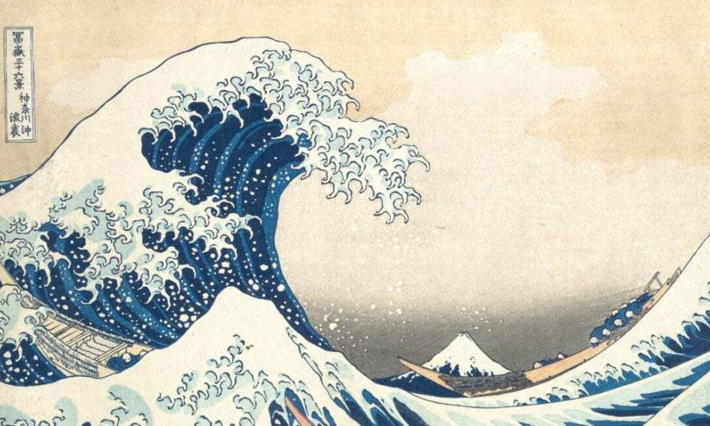 how hokusai s great wave came into the world heritagedaily heritage archaeology news. Black Bedroom Furniture Sets. Home Design Ideas