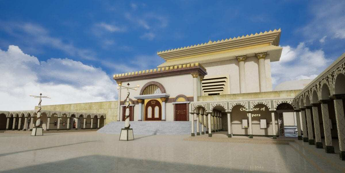 Herod's Temple - 3D Game Environment - HeritageDaily