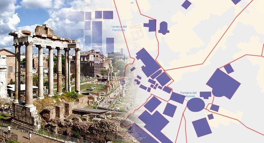 Ancient Rome Interactive Map Heritagedaily Archaeology News