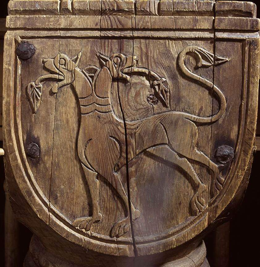 What do the animals carved into stave churches really mean? - HeritageDaily - Archaeology News