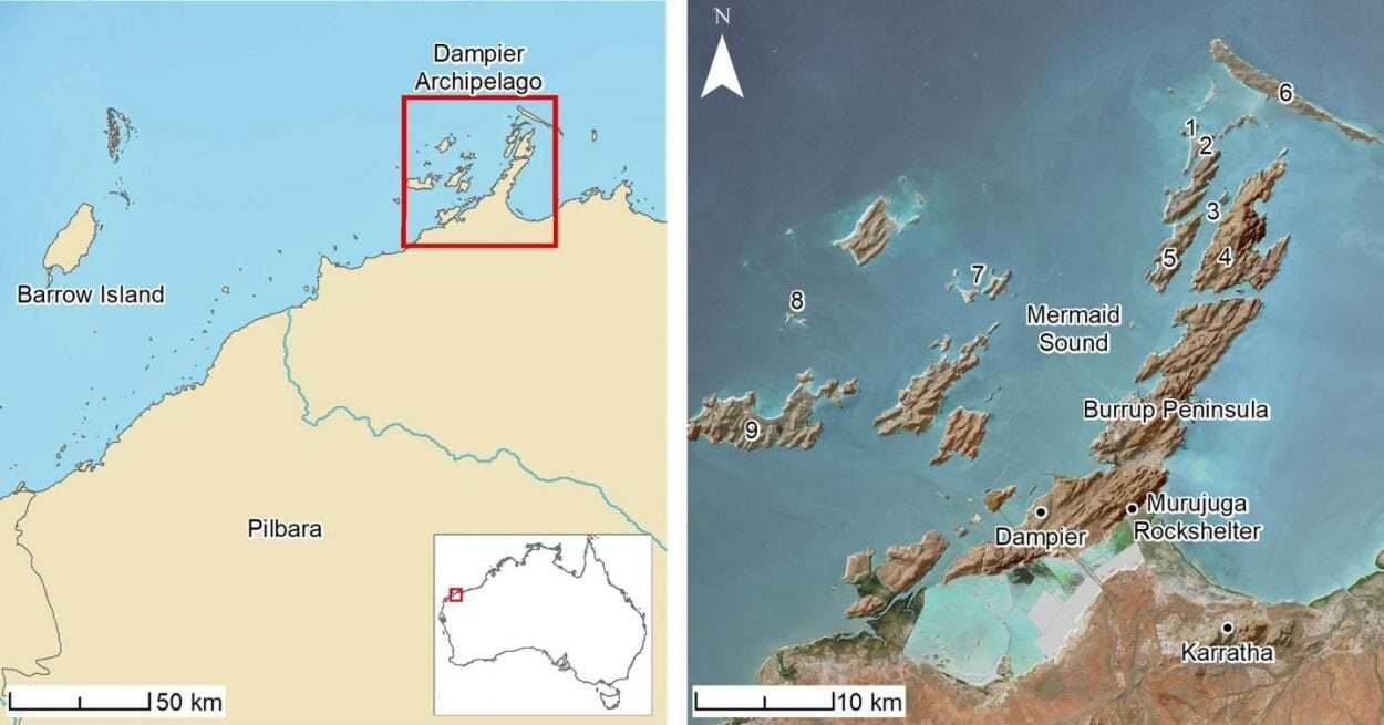Archaeologists have found ancient Aboriginal sites underwater, off the coast of Australia