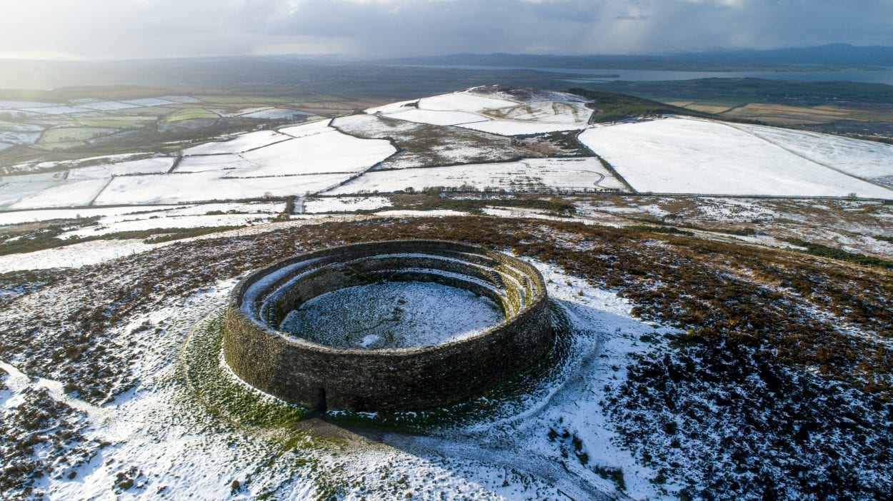 Grianan of Aileach - Seat of the Kingdom of Ailech - HeritageDaily - Archaeology News