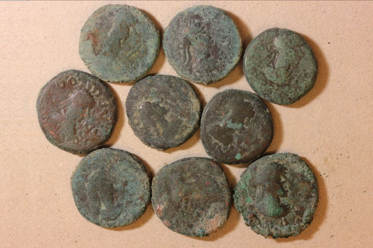 Archaeologists discover 6th century coin hoard in ancient Phanagoria - HeritageDaily - Archaeology News