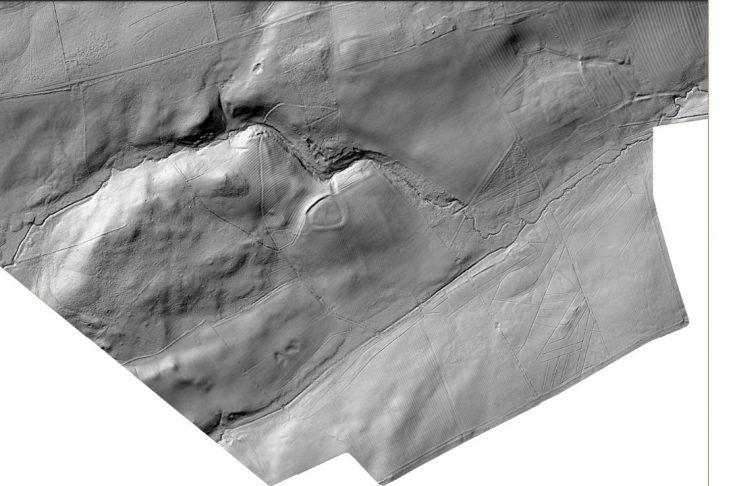 LiDAR imagery of the Wallington landscape 3
